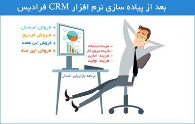 پیاده سازی نرم افزار CRM فرادیس