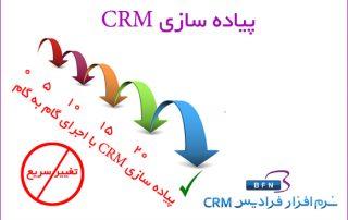 پياده سازي مديريت ارتباط با مشتري CRM