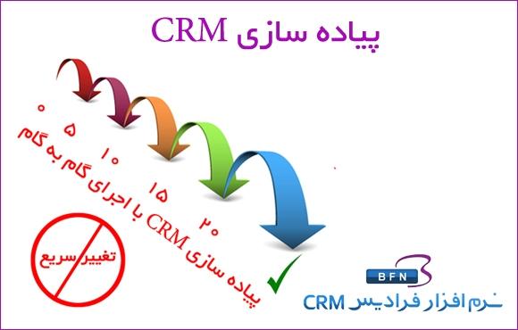پیاده سازی مدیریت ارتباط با مشتری CRM