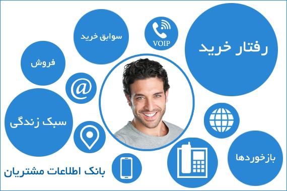 ایجاد بانک اطلاعات مشتریان در نرم افزار CRM فرادیس